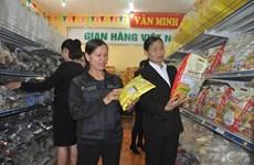 Promueven consumo de productos vietnamitas durante el Tet