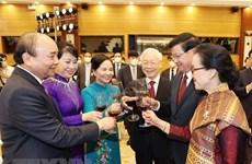 Declaración conjunta Vietnam-Laos realza relaciones especiales binacionales