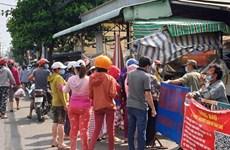 Reafirma Ciudad Ho Chi Minh garantía de productos esenciales para pobladores