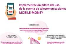 La implementación piloto del uso de la cuenta de telecomunicaciones para pagar bienes y servicios con pequeño valor