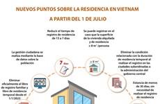 Nuevos puntos sobre la residencia en Vietnam a partir del 1 de julio
