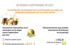 La inversión de Vietnam en el extranjero alcanza aumento de 32,4 por ciento