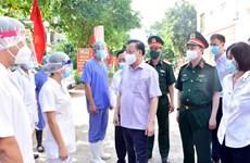Dirigente de Hanoi insta a mantener sinergia para vencer al COVID-19