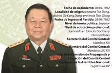 Nguyen Trong Nghia, jefe de Comisión de Propaganda y Educación de Comité Central del PCV