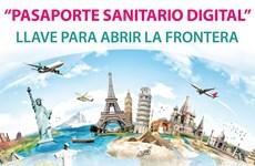 Pasaporte sanitario digital: Llave para abrir la frontera