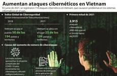 Aumentan ataques cibernéticos en Vietnam