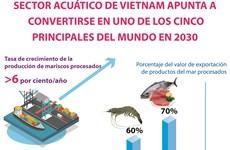 Sector acuático de Vietnam apunta a convertirse en uno de los cinco principales del mundo para 2030