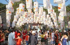 Festival de caligrafía en el Templo de la Literatura
