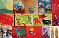 Renace el zodiaco vietnamita a través de la pintura