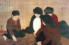 Renace pintura en seda de Vietnam bajo las manos de artistas jóvenes