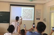 (Televisión) Aplica Vietnam tecnología de códigos QR en sus universidades