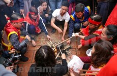 (Video) Concurso de preparación de arroz, una peculiaridad cultural de Vietnam