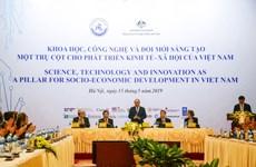 """Inversión en ciencia y tecnología impulsará transformación de Vietnam en un """"Tigre de Asia"""""""