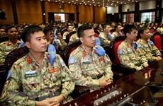 Miembros del Segundo Hospital de Campaña de Vietnam parten para misión de paz en Sudán del Sur