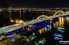 (Video) Puente del dragón pone a Vietnam en el mapa mundial del diseño de iluminación