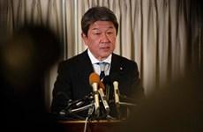 (Video) Canciller japonés realiza una visita oficial a Vietnam