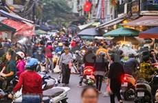 [Foto] El Mercado Hang Be, ubicado en Hanoi, atrae multitud en los últimos días del año