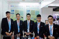 Estudiantes vietnamitas ganan medalla en concurso internacional de iniciativas e innovación en Malasia