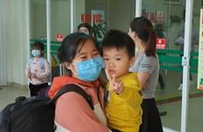 Dados de alta 30 vietnamitas repatriados de Wuhan tras 21 días de aislamiento