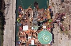 Empresa de construcción naval Dung Quat impulsa actividades en tiempos del COVID-19