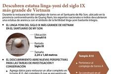 [Info] Descubren estatua linga-yoni del siglo IX más grande de Vietnam