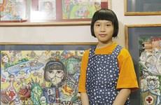 [Video] Pinturas de una niña de 10 años sobre el COVID-19 se vuelven virales en redes sociales