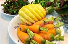 [Foto] Instrucción de preparación de jugos de frutas para fortalecer la defensa corporal