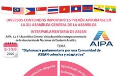 Diversos contenidos importantes prevén aprobarse en la AIPA 41