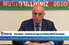 Presidente de la Agencia de Noticias AZERTAC (Azerbaiyán) envía congratulaciones a la VNA