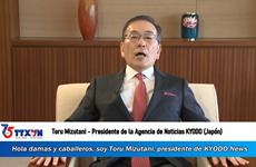 Presidente de KYODO envía congratulaciones a la VNA