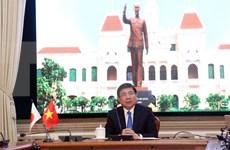 Ciudad Ho Chi Minh y prefectura japonesa de Aichi aumentarán reuniones virtuales en medio del COVID-19