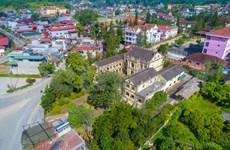 Descubren la mansión antigua más grande del emperador Meo en el distrito de Bac Ha