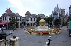 [Foto] Da Nang garantiza medidas antiepidémicas en sitios turísticos