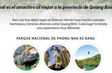 Destinos turísticos atractivos en provincia central de Quang Binh
