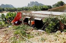 Deslizamiento de tierra provoca graves pérdidas en provincia de Quang Binh
