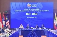 ASEAN fortalece cooperación en desarrollo de recursos humanos