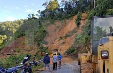 Tifón Molave causa daños en las localidades centrales de Vietnam