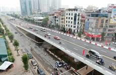 Abren al tráfico el mayor paso elevado de Hanoi
