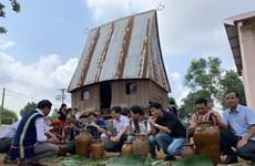 Restauran ceremonia de adoración del agua de etnia Jrai