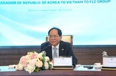 Fomentan nexos de cooperación entre grupo vietnamita FLC y socios surcoreanos