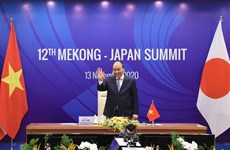 ASEAN 2020: Celebran XII Cumbre Mekong-Japón en línea