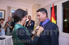 Director general de VNA recibe Orden del Mérito Civil otorgada por el Rey de España