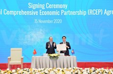 Acuerdo comercial RCEP abre más oportunidades para Vietnam