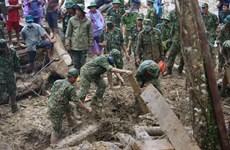 Deslizamiento de tierra en comuna vietnamita de Tra Leng causa grandes pérdidas