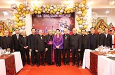 Comunidad católica en Vietnam celebra la Navidad