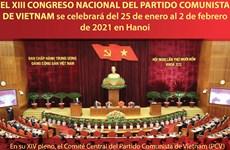 El XIII Congreso Nacional del PCV se celebrará del 25 de enero al 2 de febrero de 2021 en Hanoi