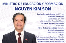 Nguyen Kim Son designado Ministro de Educación y Formación