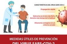 Medidas de prevención del virus SARS-CoV-2