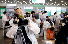 Reporteros de la VNA, a la vanguardia en la lucha contra el COVID-19