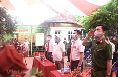 Día de elecciones especiales en 21 sitios de cuarentena en Hanoi